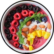 bowl full of fruit