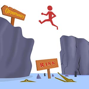 risk leads to opportunity